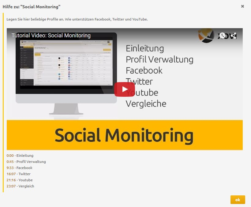 Social Monitoring-Tutorial