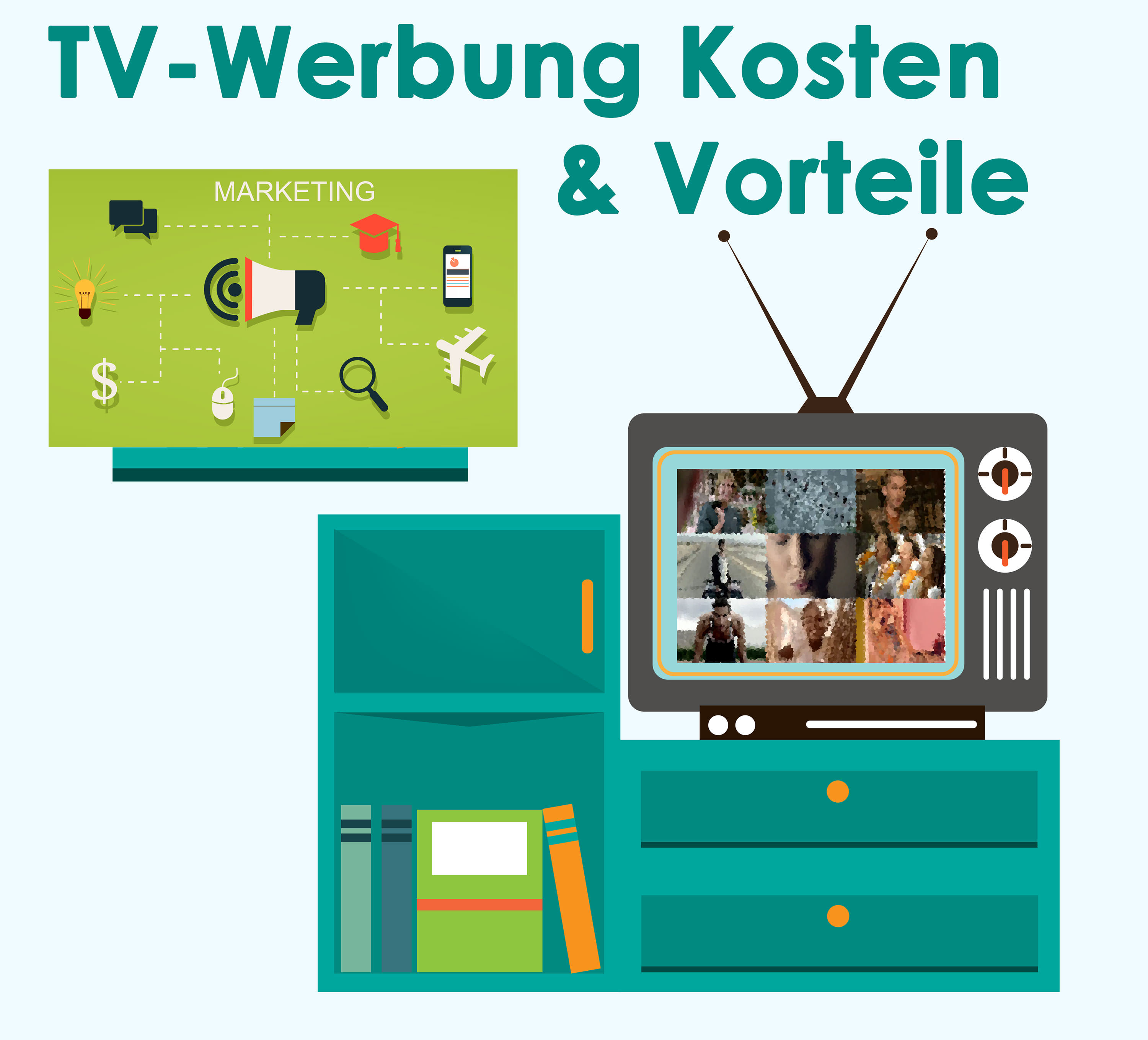 tv werbung kosten und vorteile online. Black Bedroom Furniture Sets. Home Design Ideas